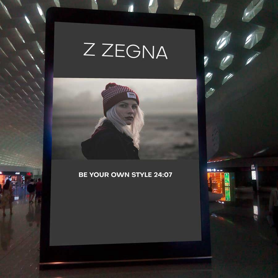 Z ZENGA Screen-display-led